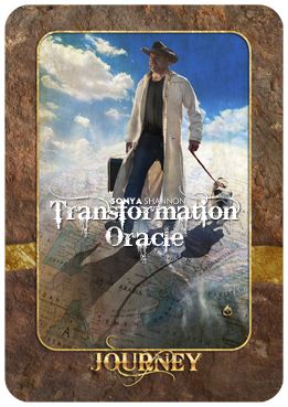 Journey card in Sonya Shannon's Transformation Oracle