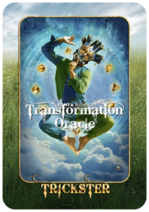 Trickster card in Sonya Shannon's Transformation Oracle