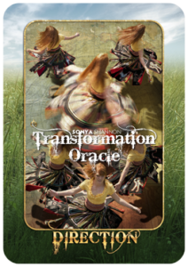 Direction card in Sonya Shannon's Transformation Oracle