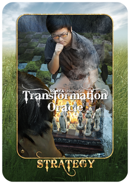Strategy card in Sonya Shannon's Transformation Oracle