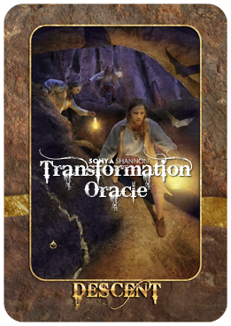 Descent card in Sonya Shannon's Transformation Oracle
