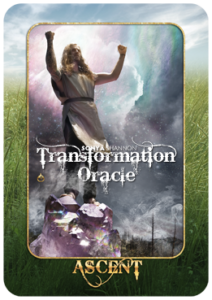 Ascent card in Sonya Shannon's Transformation Oracle