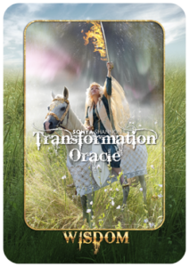 Wisdom card in Sonya Shannon's Transformation Oracle
