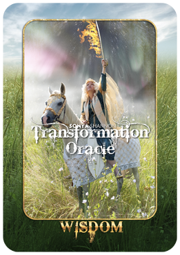 Wisdom card in Sonya Shannon's Transformation Oracle