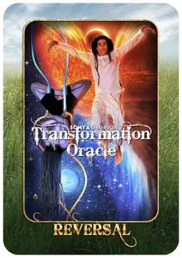 Reversal card in Sonya Shannon's Transformation Oracle
