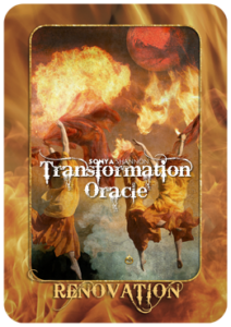 Renovation card in Sonya Shannon's Transformation Oracle