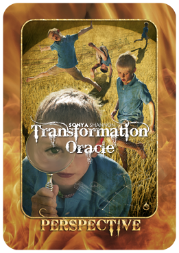 Perspective card in Sonya Shannon's Transformation Oracle