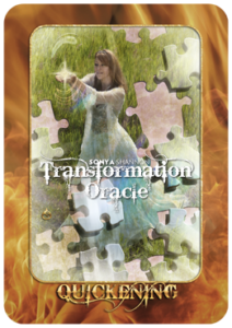 Quickening card in Sonya Shannon's Transformation Oracle