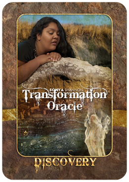 Discovery card in Sonya Shannon's Transformation Oracle