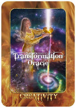 Creativity card in Sonya Shannon's Transformation Oracle
