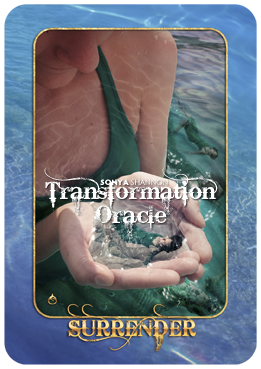 Surrender card in Sonya Shannon's Transformation Oracle