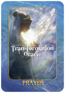 Prayer card in Sonya Shannon's Transformation Oracle