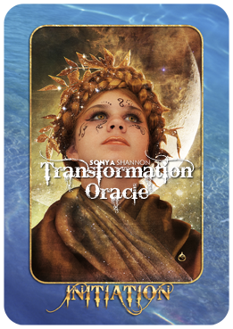 Initiation card in Sonya Shannon's Transformation Oracle