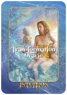 Intuition card in Sonya Shannon's Transformation Oracle