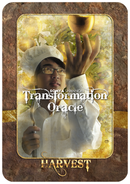 Harvest card in Sonya Shannon's Transformation Oracle
