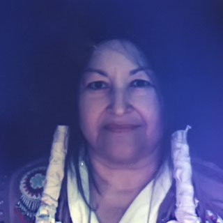 Aura Photo of Grandmother Wahseh