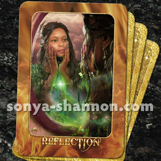 Reflection Card from the Transformation Oracle