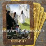 Simplicity Card from the Transformation Oracle by Sonya Shannon