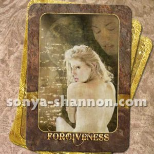 Forgiveness Card from the Transformation Oracle by Sonya Shannon