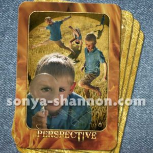 Perspective Card from the Transformation Oracle by Sonya Shannon