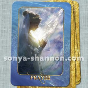 Prayer Card from the Transformation Oracle by Sonya Shannon