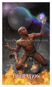 Liberation card from Sonya Shannon's Transformation Oracle