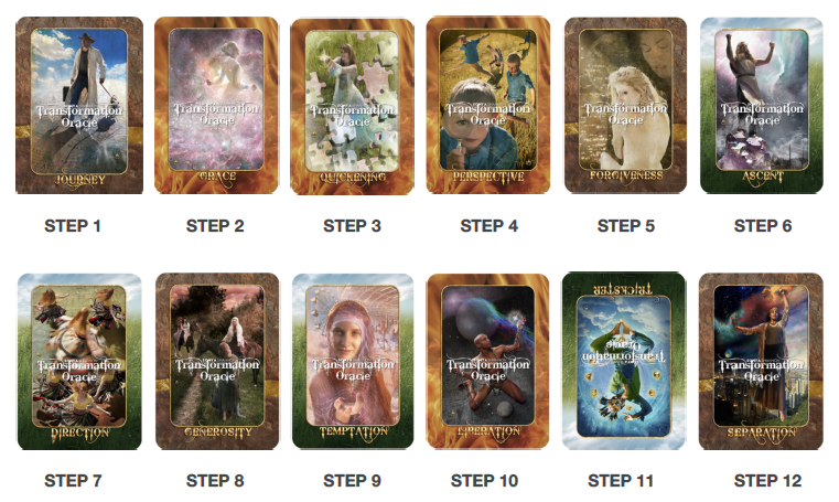 12 Step Spread with the Transformation Oracle