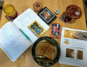 Brushing up on the Transformation Oracle Cards